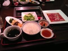長澤奈央 公式ブログ/焼き肉ランチ 画像1