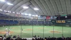 長澤奈央 公式ブログ/in 東京ドーム!! 画像1