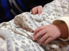 長澤奈央 公式ブログ/姪っ子ちゃんの小さな手。 画像1