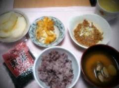 長澤奈央 公式ブログ/今日の朝食 画像1