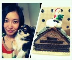 長澤奈央 公式ブログ/チョコレートケーキ。 画像1