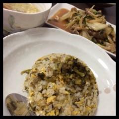 長澤奈央 公式ブログ/高菜チャーハン。 画像1