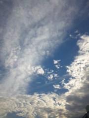 長澤奈央 公式ブログ/空は…。 画像1
