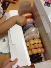長澤奈央 公式ブログ/大好物のドーナツ。 画像1
