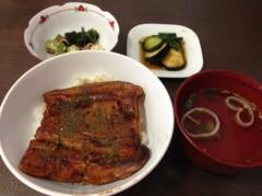 長澤奈央 公式ブログ/うな丼。 画像1