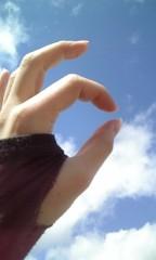 碧みさき(JK21) 公式ブログ/両手をあげて。 画像1