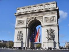 片辺真則 プライベート画像/フランス滞在記 凱旋門