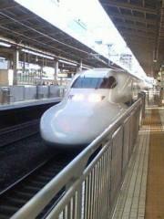 井手らっきょ 公式ブログ/新幹線 画像1