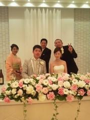 戸嶋 大 プライベート画像/3月旅行での写真 結婚式