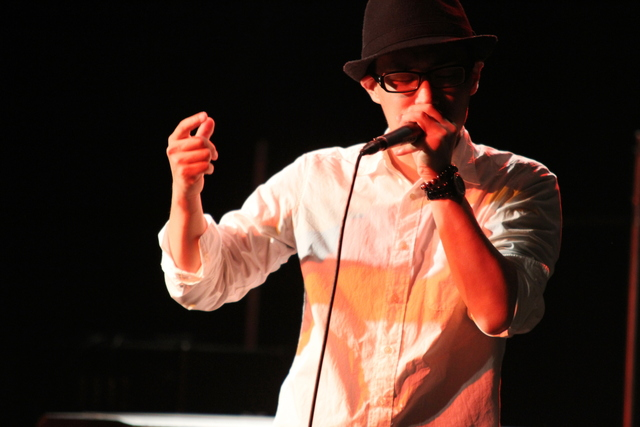 on voice percussion TAKAHIRO
