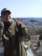 戸嶋 大 プライベート画像/3月旅行での写真 犬山城上から