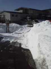 戸嶋 大 プライベート画像/3月旅行での写真 まだまだ冬