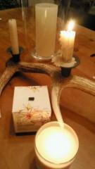 東ちづる 公式ブログ/プルメリアの香り*キャンドル 画像1