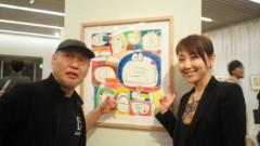 東ちづる 公式ブログ/ドラえもんを描く〜開催中! 画像3