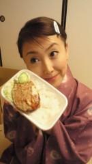 東ちづる 公式ブログ/寒いロケこそ愛ある食事を〜 画像1