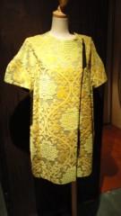 東ちづる 公式ブログ/カーテンのような黄色いワンピ 画像1