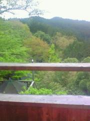 東ちづる 公式ブログ/露天風呂〜*まだ奈良です 画像1