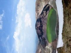東ちづる 公式ブログ/蔵王温泉のお釜ともっさん 画像1