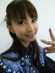 上條かすみ 公式ブログ/浴衣☆全身 画像2