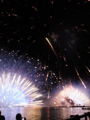 上條かすみ 公式ブログ/諏訪湖花火大会 画像1