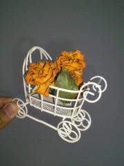 上條かすみ 公式ブログ/オレンジ色の薔薇さん 画像2