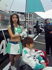 上條かすみ 公式ブログ/フォーミュラ日本Race2 画像1