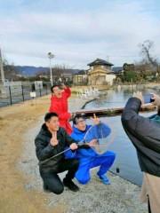 トモ(テツandトモ) 公式ブログ/釣り堀へ(^-^) 。 画像3