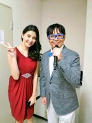 トモ(テツandトモ) 公式ブログ/橋本マナミさんと番組の司会を!! 画像2