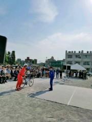 トモ(テツandトモ) 公式ブログ/『小学生自転車実技教室』へ! 画像2