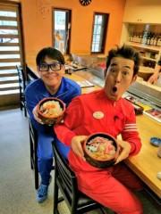 トモ(テツandトモ) 公式ブログ/甲斐市「市場寿司」さんへ(^-^) 。 画像1