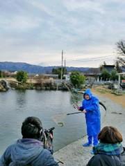トモ(テツandトモ) 公式ブログ/釣り堀へ(^-^) 。 画像2