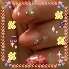 小河慶子 公式ブログ/爪色鮭系桃色 画像1