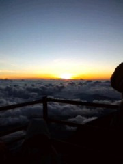 赤城アリア 公式ブログ/富士山! 御来光 画像1
