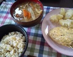 神農幸(じんのさち) 公式ブログ/豚汁作りました。 画像1