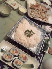 野村佑香 公式ブログ/昨日の七夕 の夕飯は・・・ 画像1