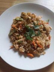 野村佑香 公式ブログ/玄米キムチ高菜チャーハン 画像2