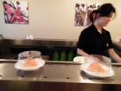 野村佑香 公式ブログ/北欧通信 ヨーテボリの回転すし 画像1