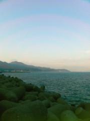 オルリコ 公式ブログ/由比で休憩です。太平洋の香りが落ち着きます!富士山はどこでしょうか(*^_^*)? 画像1