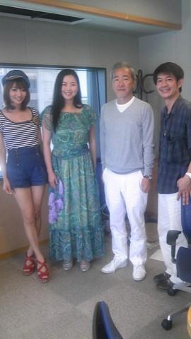 大竹まことさんの番組出演させていただきました!楽しかったです!太田さんと眞鍋さんとても優しかったです!