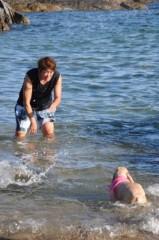 ライオネス飛鳥 公式ブログ/初泳ぎ 画像2