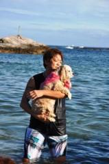 ライオネス飛鳥 公式ブログ/初泳ぎ 画像1