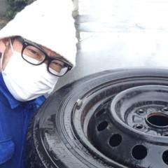 カトウトモタカ 公式ブログ/タイヤ交換は無事に終わったけど、冬用ワイパーのゴムがベロベローンってなってた。 画像1