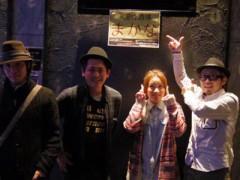 カトウトモタカ 公式ブログ/出演者4人中3人がハットでした。店長もハットで、ハット率が高いMACANAでした。 画像2