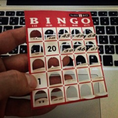 カトウトモタカ 公式ブログ/せっかくなので、ビンゴカードを持って帰って来ました。これがある意味景品だと思って。 画像1