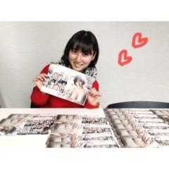 紗綾 公式ブログ/イベントに向けて大量のサイン書き 画像1