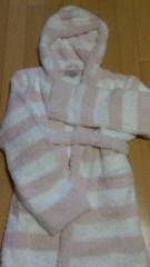 沢田美香 公式ブログ/もこもこバスローブ 画像1