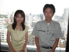 篠崎菜穂子 公式ブログ/夏のロケです。 画像1