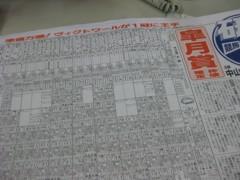 篠崎菜穂子 公式ブログ/いよいよ競馬シーズン! 画像1