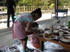 篠崎菜穂子 公式ブログ/バーベキュー♪ 画像2