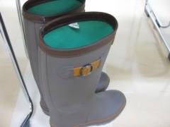 篠崎菜穂子 公式ブログ/スーツに長靴 画像1